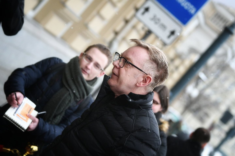 "Grupė ""Depeche Mode"" atvyko į Vilnių."