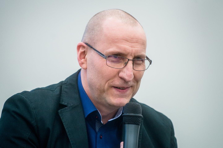 Sigitas Parulskis<br>J.Stacevičiaus nuotr.