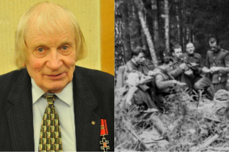 Laisvės kovotojas, tremtinys, Atgimimo metraštininkas Albinas Kentra-Aušra.<br>Asmeninio albumo nuotr.