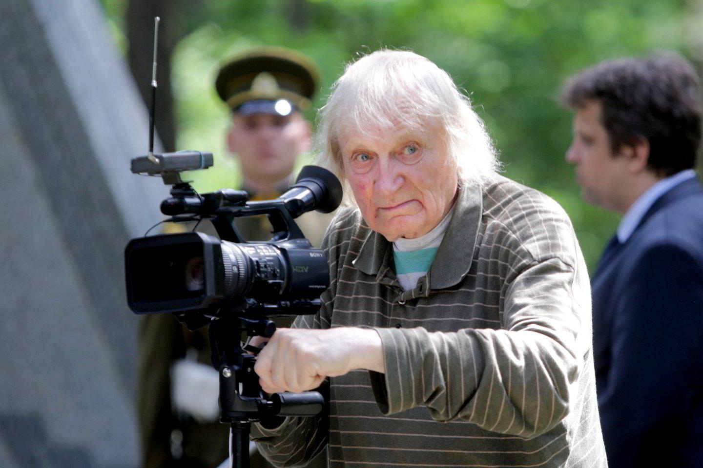 Dėstytojas, operatorius Albinas Kentras.<br>V.Balkūno nuotr.