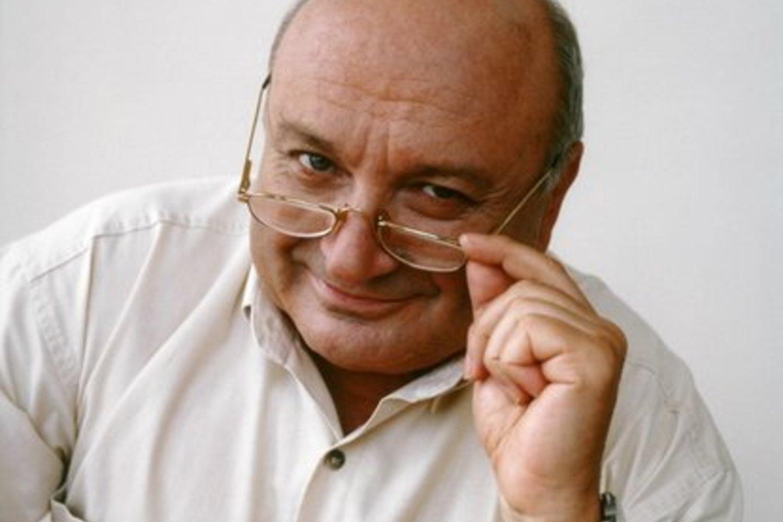 Satyrikas M.Žvaneckis Vilniuje surengs autorinį vakarą.<br>Organizatorių nuotr.
