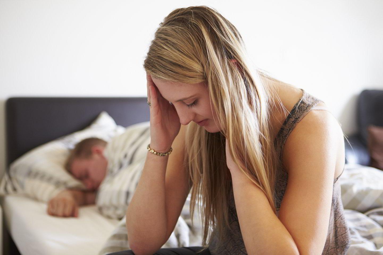 """Už inteligento ištekėjusi moteris lovoje jaučiasi pažeminta.<br>""""123rf"""" asociatyvioji nuotr."""