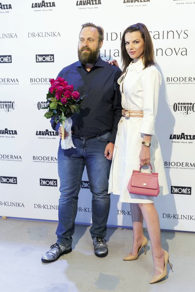 Alesia Mačiulis (nuotr. su vyru Romualdu Mačiuliu).<br>T.Bauro nuotr.