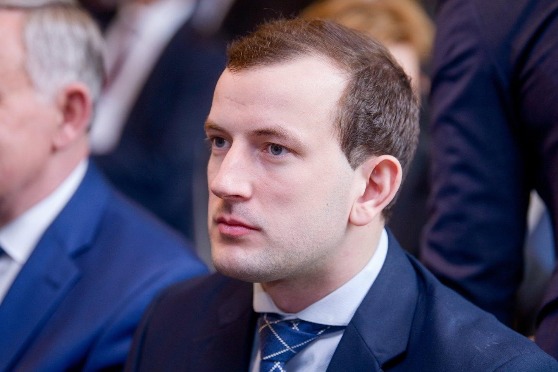 Ūkio ministras Virginijus Sinkevičius.<br>J.Stacevičiaus nuotr.