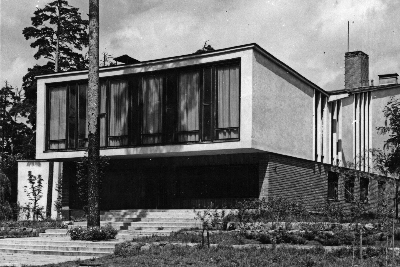 Kompozitorių namai Žvėryne -sovietinių laikų, bet ne sovietinio tipo architektūros pavyzdys.<br>LKS archyvo nuotr.