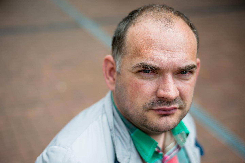 IT ekspertas Marius Pareščius prašo nesidengti IT specialistų galimomis klaidomis.<br>J.Stacevičiaus nuotr.