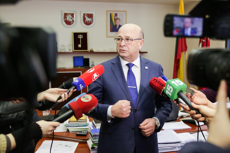 Kauno meras Visvaldas Matijošaitis užkopė į populiariausių šalies politikų reitingo viršūnę.<br>G.Bitvinsko nuotr.