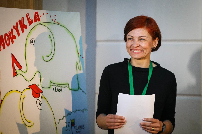"""Vilniuje vyko konferencija """"Socialinis ir emocinis ugdymas Lietuvoje: mokytojai, vaikai,  tėvai"""".<br>Organizatorių nuotr."""