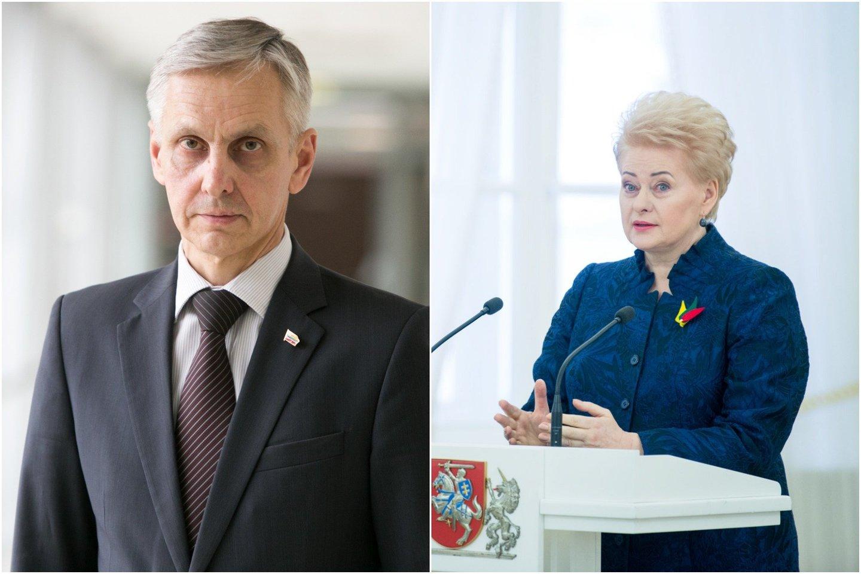 P.Urbšys mano, kad D.Grybauskaitė bando apsaugoti sąjungininkus, tad nusbaudė stabdžius.
