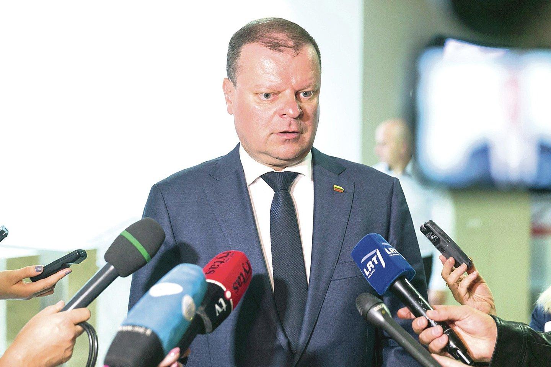 """S.Skvernelis: """"Lietuva turėtų įvertinti galimybes apskųsti jai nepalankų Strasbūro sprendimą šio teismo Didžiajai kolegijai."""""""