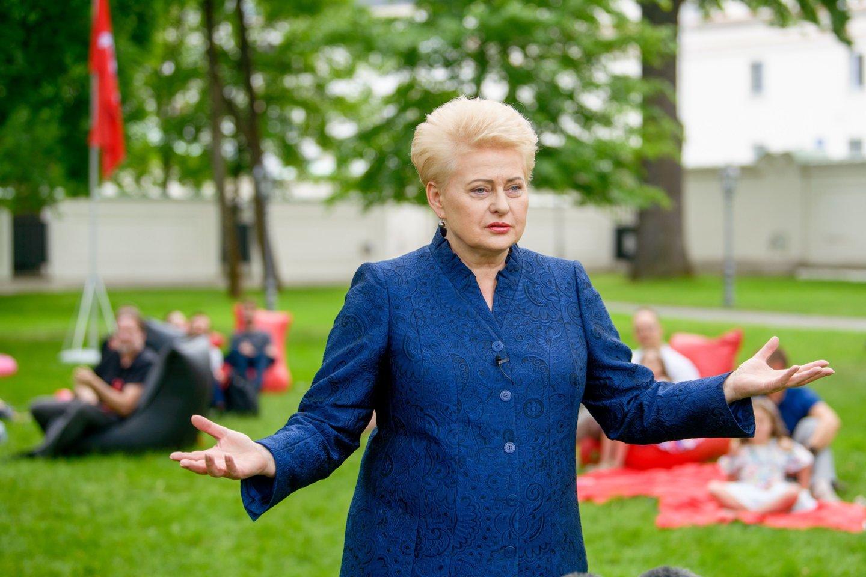 D.Grybauskaitė.<br>J.Stacevičiaus nuotr.