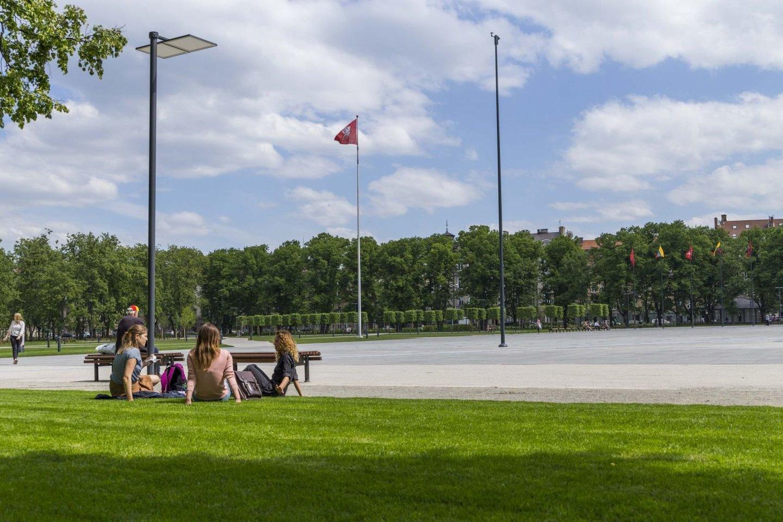 Šeštadienį pamatyti dešimtmečius lauktonaujojo aikštės veidosusirinks miestiečiai ir miesto svečiai.