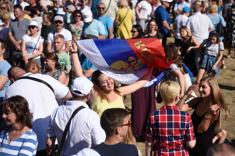 Rusų kultūros šventė Vilniuje.<br>D.Umbraso nuotr.