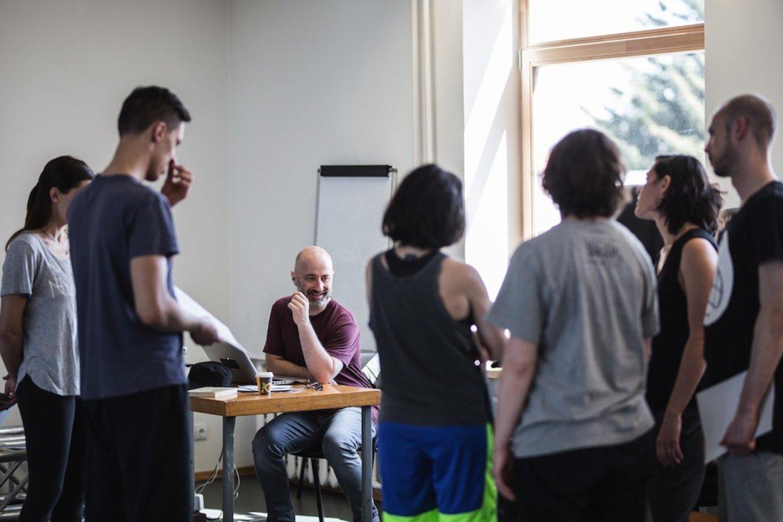 Šokėjams surengtos meistriškumo pamokos.<br>www.kemel.lt