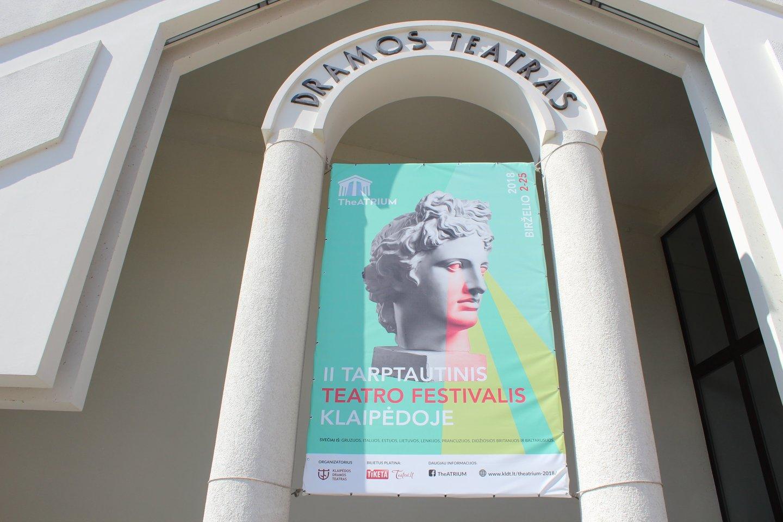 Tarptautinis teatro festivalis Klaipėdoje.<br>G.Pilaičio nuotr.