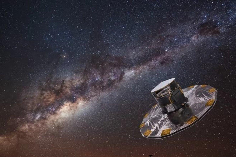 Gaia kosminės misijos observatorija<br>ESA/ATG Medialab nuotr.