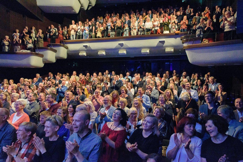Koncertas audrino publiką.<br>A.Kubaičio nuotr.