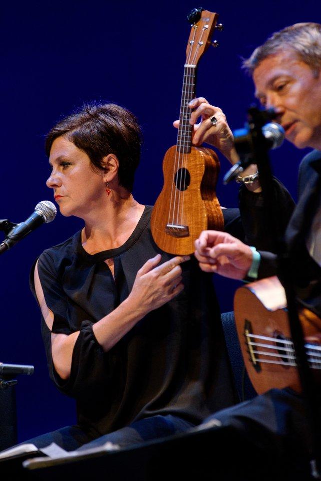 Ukulelė - nuostabus instrumentas.<br>A.Kubaičio nuotr.
