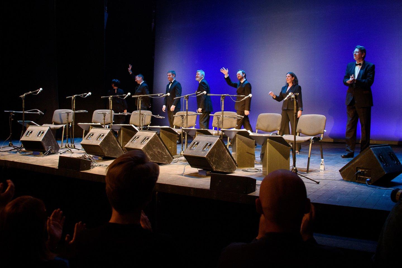 Publika nenorėjo paleisti atlikėjų.<br>A.Kubaičio nuotr.