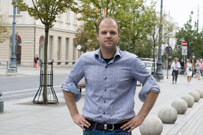 Architektas Donatas Počešiūnas – aktyvus universalaus dizaino propaguotojas Lietuvoje.<br>N. Zenkevičiūtės nuotr.