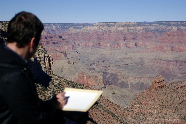 Įkvepiantys Grand Canyono vaizdai Arizonoje.<br>Asmeninio archyvo nuotr.