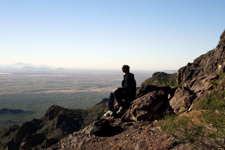 Arizonos kalnuose.<br>Asmeninio archyvo nuotr.