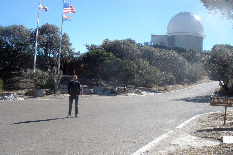 Arizonoje (JAV), Sonora dykumoje, įsikūrusioje Kitt Peak nacionalinėje observatorijoje yra didžiausia pasaulyje optinių teleskopų kolekcija.<br>Asmeninio archyvo nuotr.