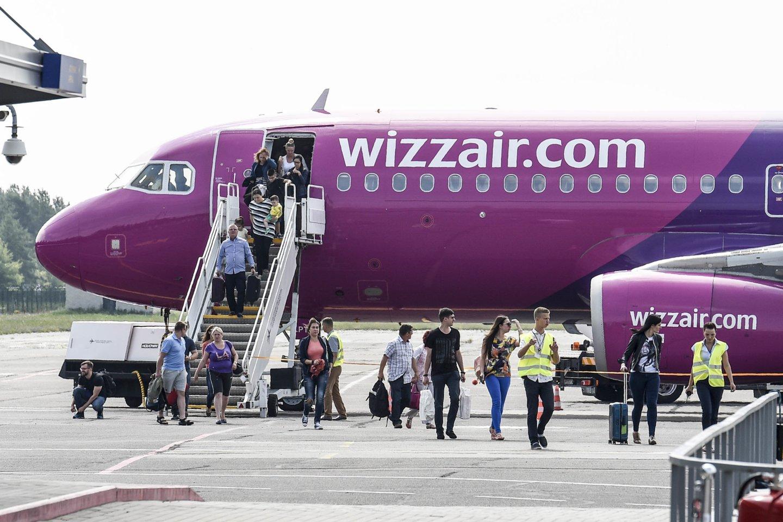 """Kaip lrytas.lt patvirtino """"Wizz air"""" atstovė spaudai Gabrijela Petrikytė, kai kurios kryptys žiemos sezonu nebeegzistuos ir bus galimos tik vasaros sezono metu.<br>V.Ščiavinsko nuotr."""