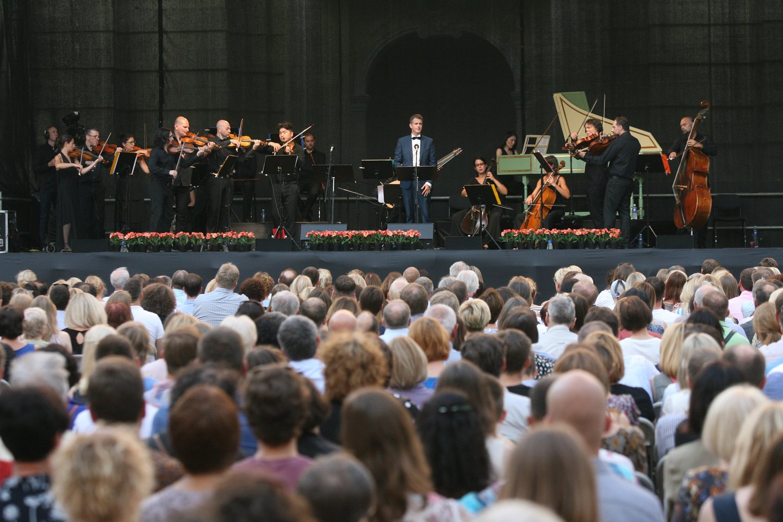 Ph.Jaroussky koncerto Vilniuje akimirkos.<br>R.Danisevičiaus nuotr.