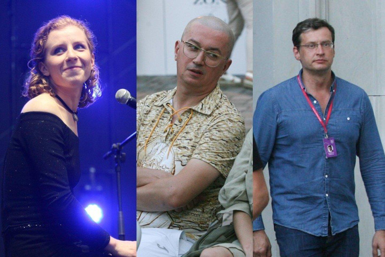 A.Orlovos koncerto nepraleido ir A.Pogrebnojus bei M.Pitrėnas.<br>R.Danisevičiaus nuotr.