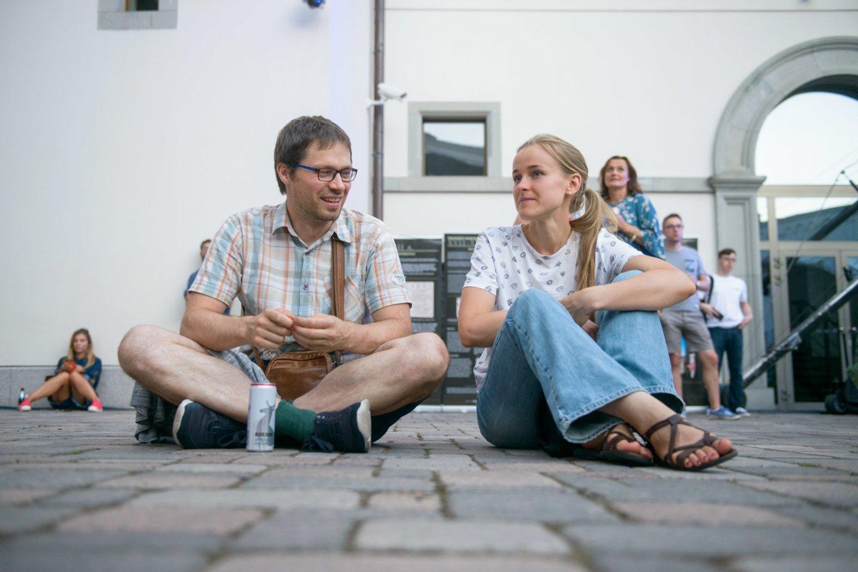 """Melomanų numylėtinių """"Little Dragon"""" koncertas Vilniuje.<br>J.Stacevičiaus nuotr."""