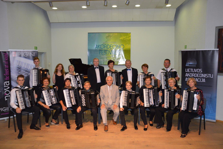 Jungtinis mokytojų orkestras.<br>Rengėjų nuotr.