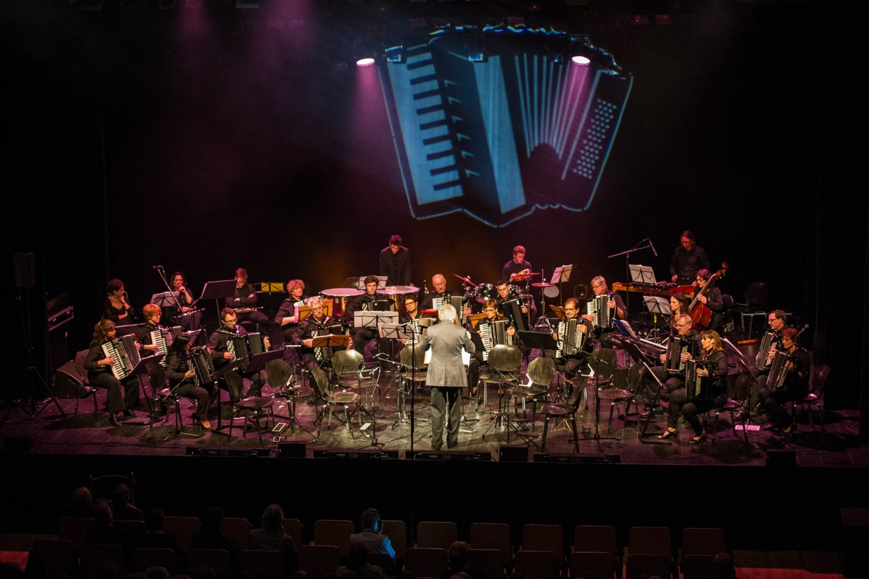 """Orkestras """"Académie Accordéon Haguenau"""" iš Prancūzijos.<br>Rengėjų nuotr."""