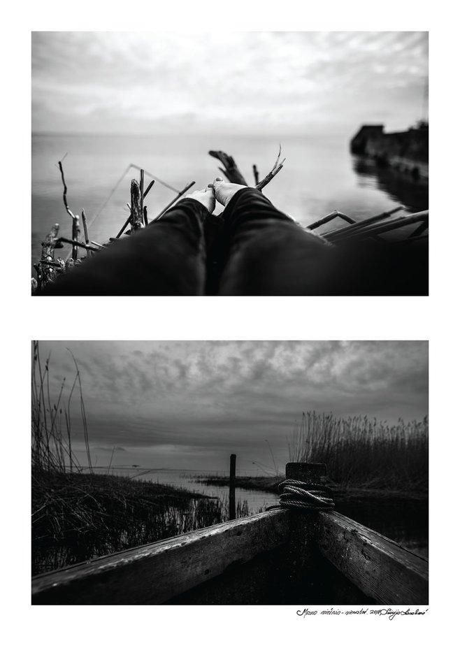 """Liucijos Karalienės fotografijų serija """"Mano viešnia vienatvė"""" (2)."""