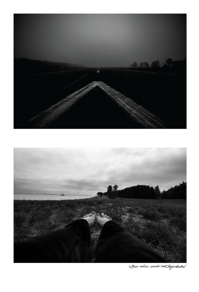"""Liucijos Karalienės fotografijų serija """"Mano viešnia vienatvė"""" (3)."""