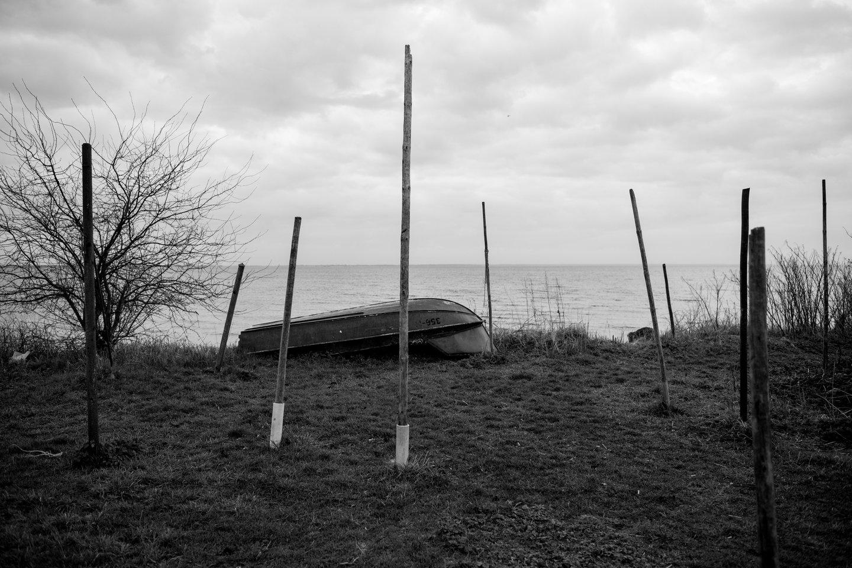 """Pauliaus Peleckio nuotrauka """"Kartą įlankoje""""(1)."""