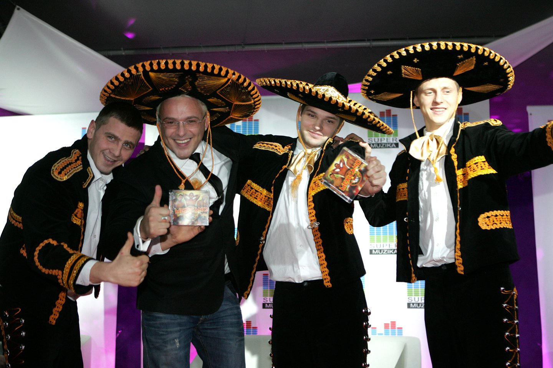 Grupė Mexicano.<br>Lrytas.lt archyvo nuotr.