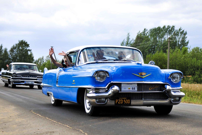 "1956 m. ""Cadillac Deville Coupe"".<br>I.Daubaraitės nuotr."