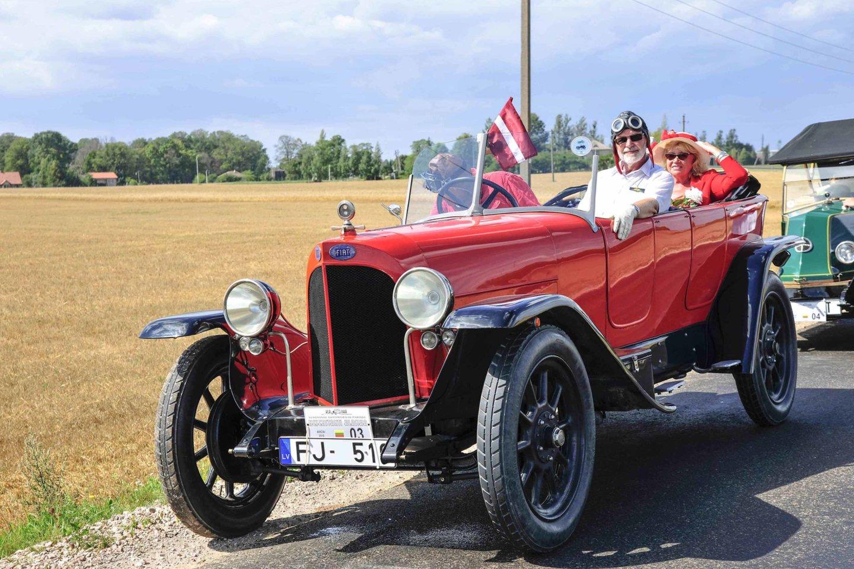 1922 m. FIAT 510 S.<br>I.Daubaraitės nuotr.