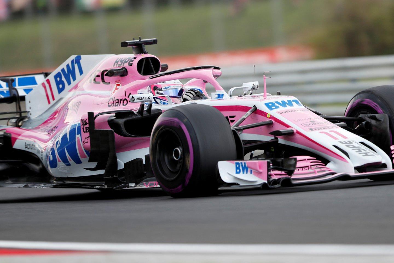 "L.Strollo tėvas nupirko ""Force India"" komandą.<br>Reuters/Scanpix nuotr."