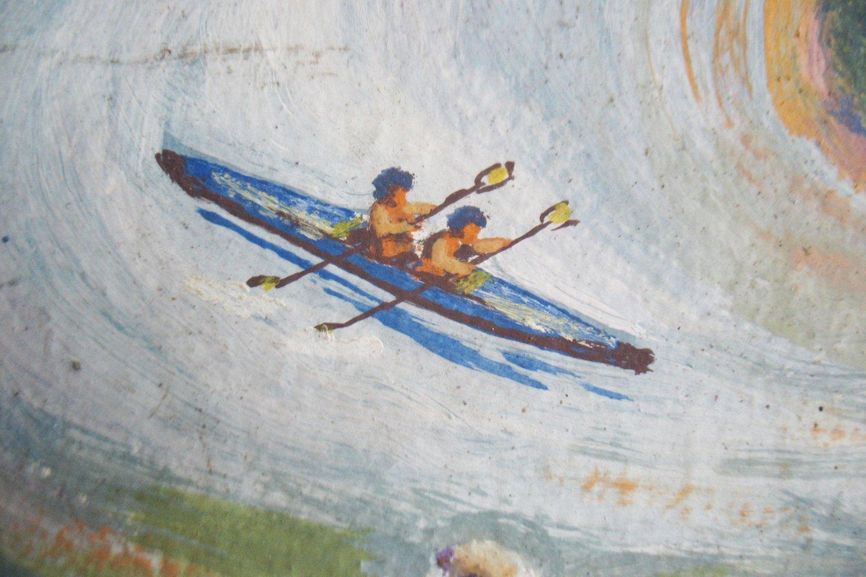 Stasio Karanausko tapybos darbai.<br>Asmeninio archyvo nuotr.