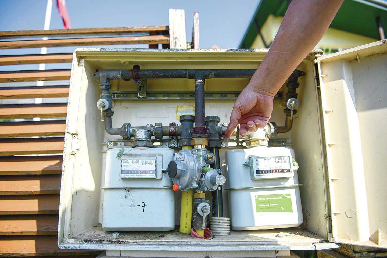 Vilnietis įtaria, kad dujos iš apskaitos spintos tekėjo ne vieną mėnesį.