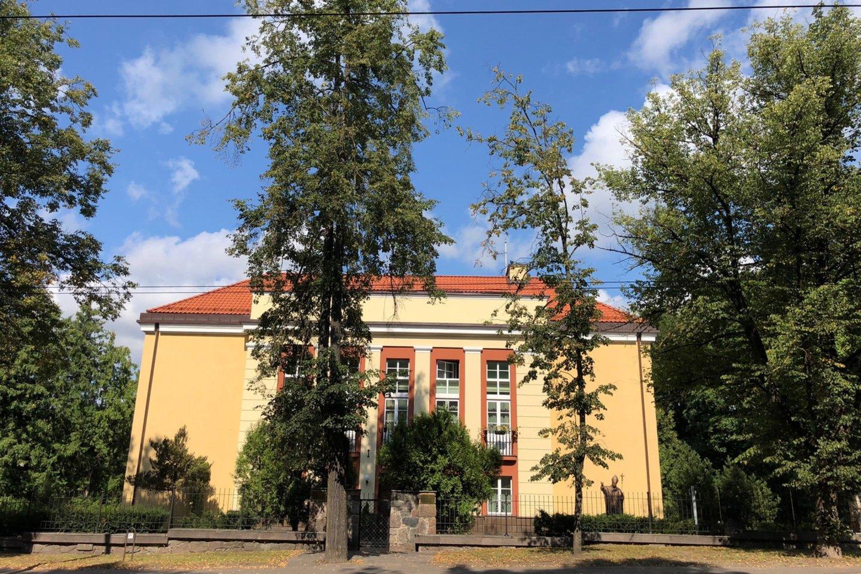 Kaip lrytas.lt sakė Vilniaus arkivyskupijos komunikacijos specialistė Santa Kančytė, popiežius Pranciškus, apsilankymo Lietuvoje metu, bus įkurdintas Apaštališkojoje nunciatūroje.<br>V.Ščiavinsko nuotr.