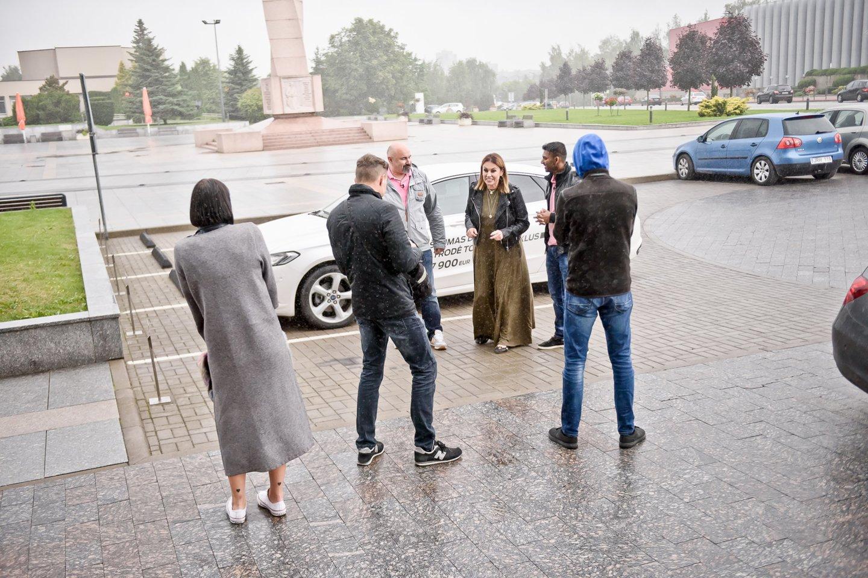 Laidos akimirkos.<br>Aliaus Koroliovo ir tomasfoto.lt nuotr.