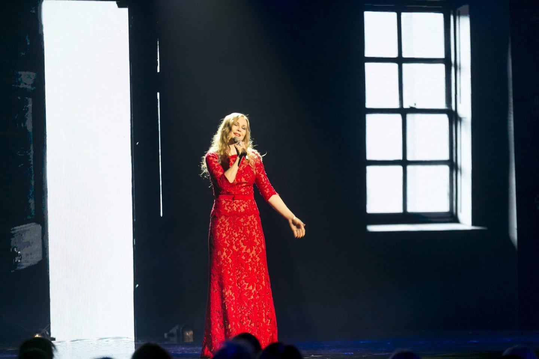 """Dangė šių metų """"Eurovizijos"""" atrankoje.<br>T.Bauro nuotr."""