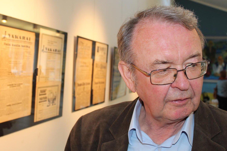 Inžinierius Š.Toliušis sukaupė unikalų senosios lietuviškos periodikos rinkinį.<br>G.Pilaičio nuotr.