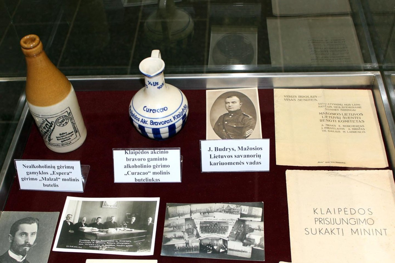 Kolekcininkas rinko su Mažąja Lietuva susietas relikvijas.<br>G.Pilaičio nuotr.