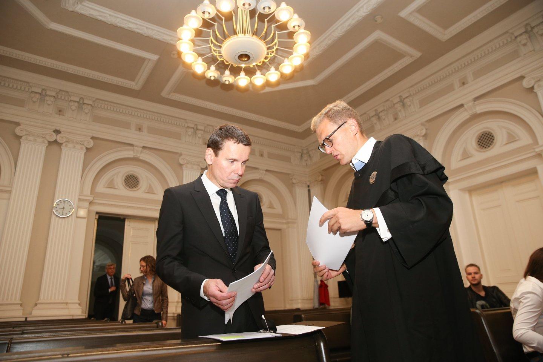 """""""MG Baltic"""" ir politinės korupcijos teismas.<br>R.Danisevičiaus nuotr."""