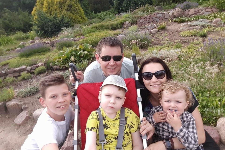 Beveik tobula šeima.<br>Asmeninio archyvo nuotr.