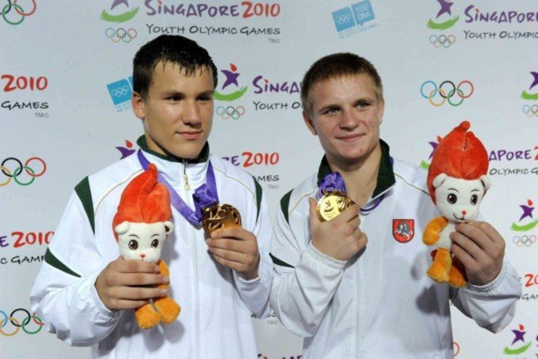 Evaldas Petrauskas svajoja pasirodyti trečiose iš eilės olimpinėse žaidynėse<br>A.Pliadis